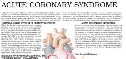 Acute Coronary Syndrome (ACS)