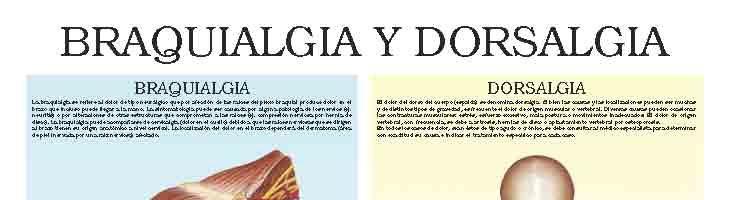 Brachialgia and dorsalgia
