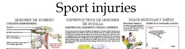 Sport injuries (III)