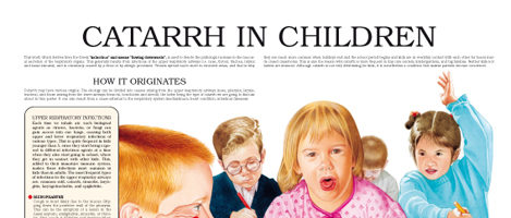 Catarrh in children